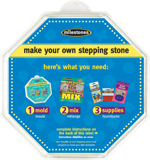 """Stepping Stone Mold-Octagon 12"""" -90723124 - 601950231249"""