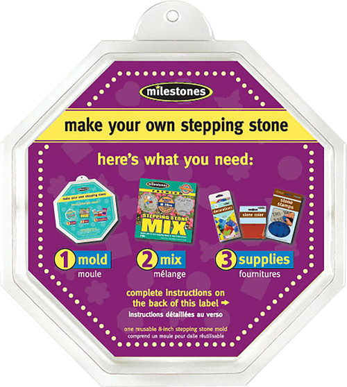 """Stepping Stone Mold-Octagon 8"""" -90723134 - 601950231348"""