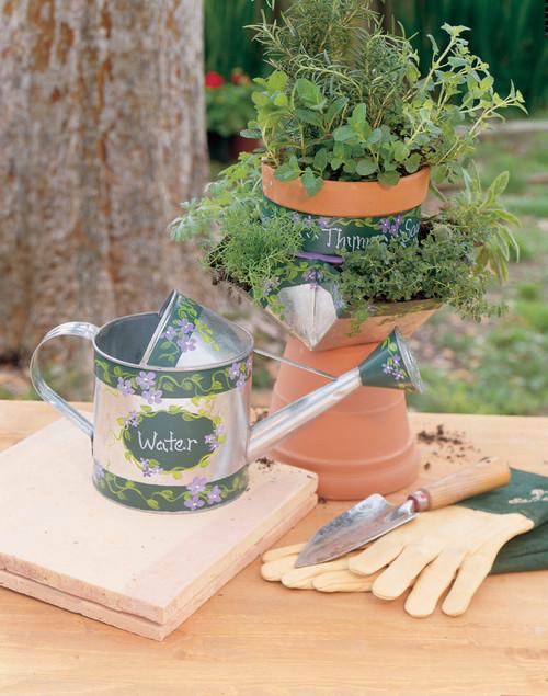 Acrylic Paint Pots 16/Pkg-Outdoor -27050056