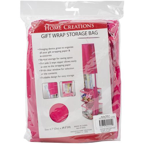 "Gift Wrap Storage Bag-12""X59"" Fuchsia -5555-F - 039676555552"