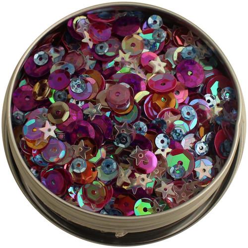 28 Lilac Lane Tin W/Sequins 40g-Mixed Berry -LL313