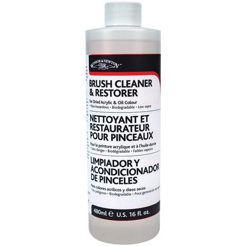 Winsor & Newton Brush Cleaner & Restorer-16oz -3250895 - 094376920239