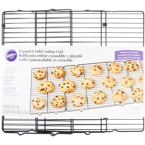 """Expand & Fold Cooling Rack-14""""X32"""" -W0071 - 070896400710"""