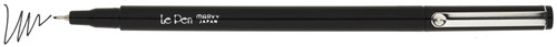Le Pen .03mm Point 4/Pkg-Black -4300-4B