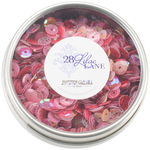 28 Lilac Lane Tin W/Sequins 40g-My Valentine -LL311 - 840934000574