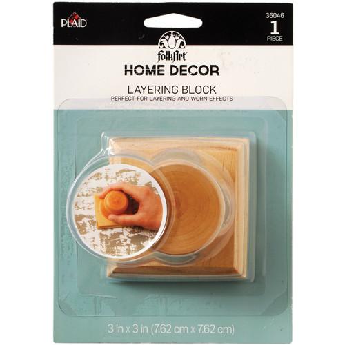 FolkArt Home Decor Layering Block -HDC36046 - 028995360466