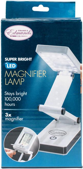 Frank A. Edmunds Super Bright LED Magnifier-FE7911 - 0178740282210017874028221