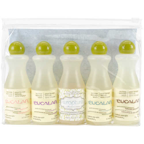 Eucalan Fine Fabric Wash 3.3oz Gift Pack-44328 - 666884443281