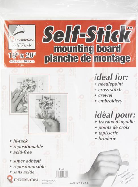 """Pres-On Mounting Board 16""""X20""""-B16MC - 024904006036"""