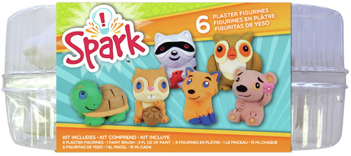Plaster Playset-Forest Critters -YPI65455 - 765468654553