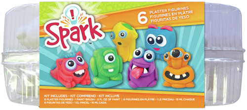 Plaster Playset-Monsters -YPI54865 - 765468548654