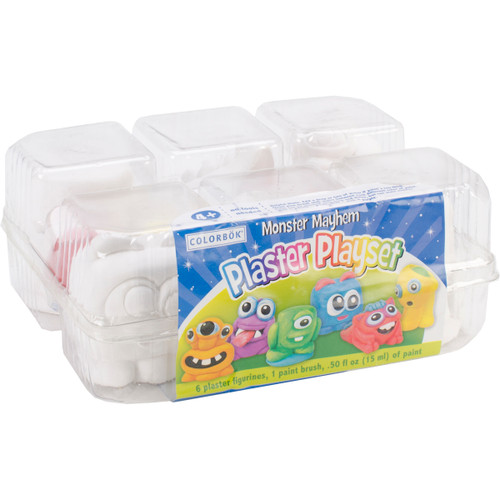 Plaster Playset-Monsters -YPI54865