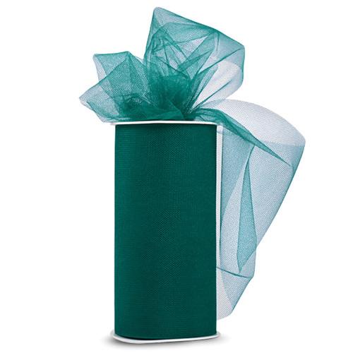 "Expo Shiny Tulle 6""X24yd Spool-Emerald -TL2402-EM - 730484691509"
