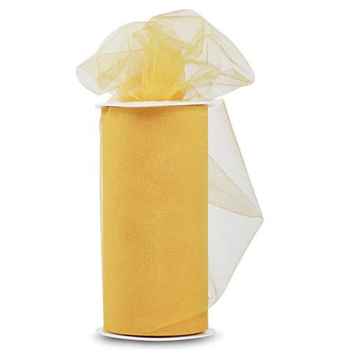 "Expo Shiny Tulle 6""X24yd Spool-Light Yellow -TL2402-LYL - 730484691004"