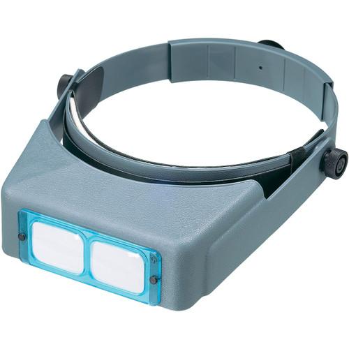"Donegan Optical OptiVISOR Binocular Magnifier-Lensplate #5 Magnifies 2.5x At 8"" -DA-5"