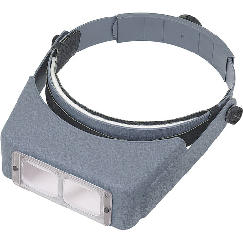 "Donegan OptiVISOR LX Binocular Magnifier-Lensplate #5 Magnifies 2.5x At 8"" -LX5"