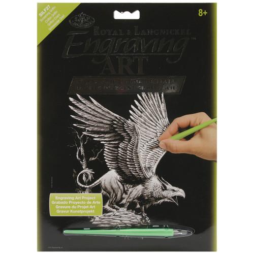 "Silver Foil Engraving Art Kit 8""X10""-Screaming Griffin -SILVFL-27 - 090672066848"