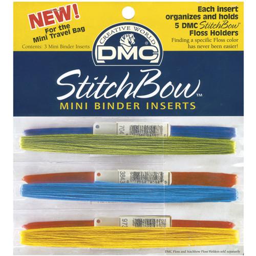 DMC StitchBow Mini Binder Inserts-3/Pkg -U1335L - 077540912063