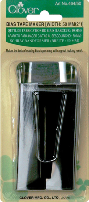 "Clover Bias Tape Maker-2"" -464-50 - 051221505287"