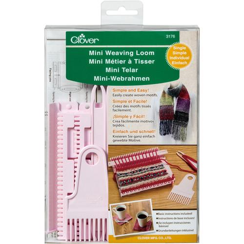 Clover Single Mini Weaving Loom-3176 - 051221731761