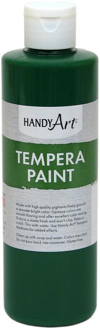Handy Art Tempera Paint 8oz-Green -206-045 - 075176104661