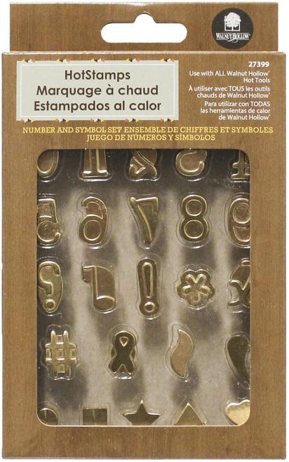 Hot Stamps Number & Symbol Set 24/Pkg -27399 - 046308273999