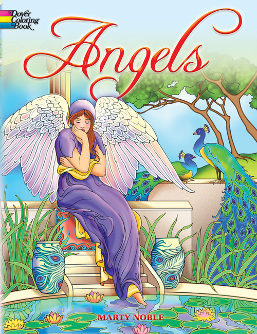 Dover Publications-Angels Coloring Book -DOV-46775 - 8007594677549780486467757