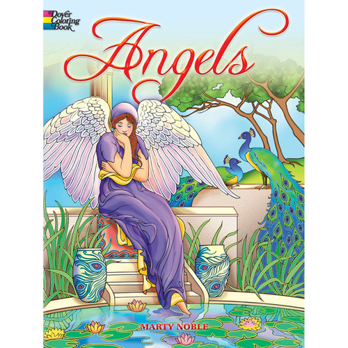 Dover Publications-Angels Coloring Book -DOV-46775