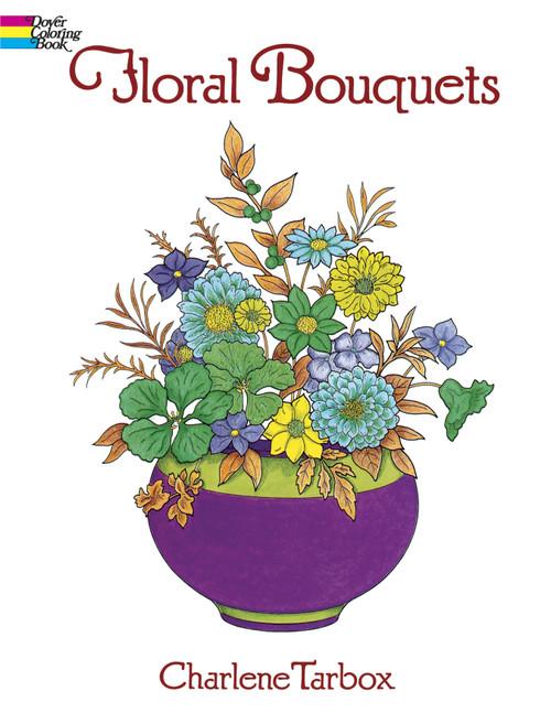 Dover Publications-Floral Bouquets Coloring Book -DOV-28654 - 8007592865469780486286549