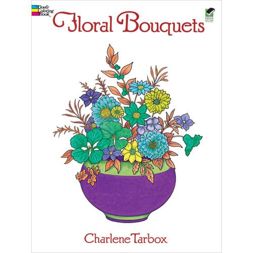 Dover Publications-Floral Bouquets Coloring Book -DOV-28654