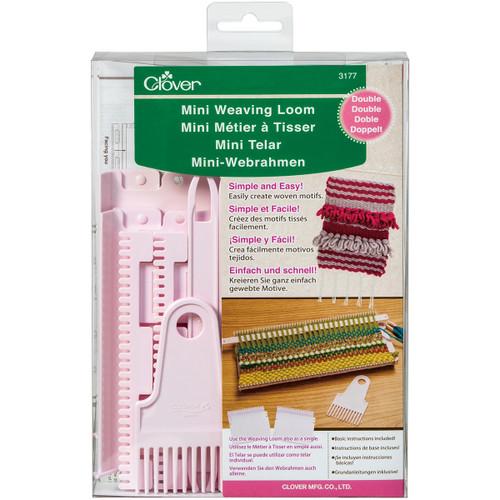 Clover Double Mini Weaving Loom-3177 - 051221731778
