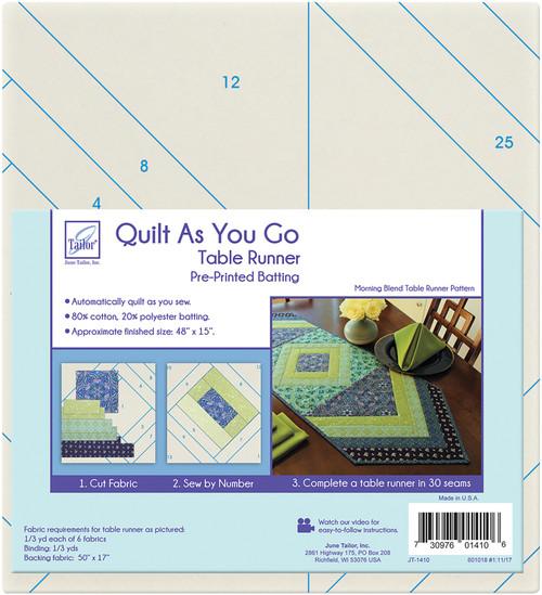 June Tailor Quilt As You Go Table Runner-Morning Blend -JT1410 - 730976014106