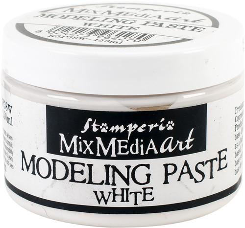 Stamperia Modeling Paste 150ml-White -K3P38W - 8024273962270