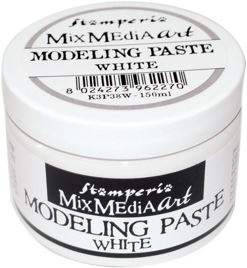 Stamperia Modeling Paste 150ml-White -K3P38W