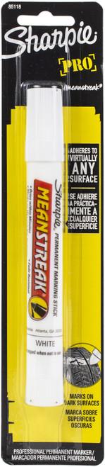 Sharpie Mean Streak Broad Tip Marking Stick Carded-White -85118PP - 071641851184