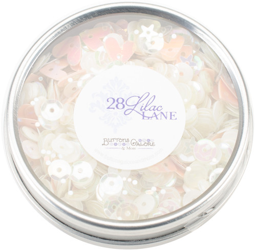 28 Lilac Lane Tin W/Sequins 40g-Fairy Sparkle -LL308 - 840934000673