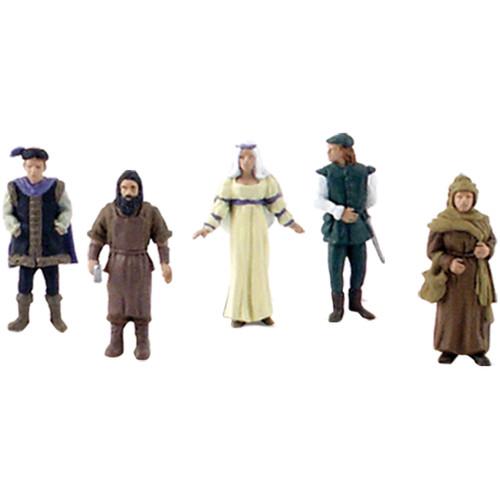 Scene Setters(R) Figurines-Castle Dwellers 5/Pkg -SP4442