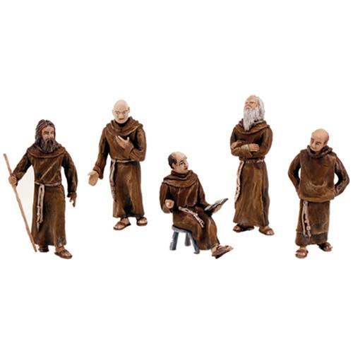 Scene Setters(R) Figurines-Friars/Monks 5/Pkg -SP4453