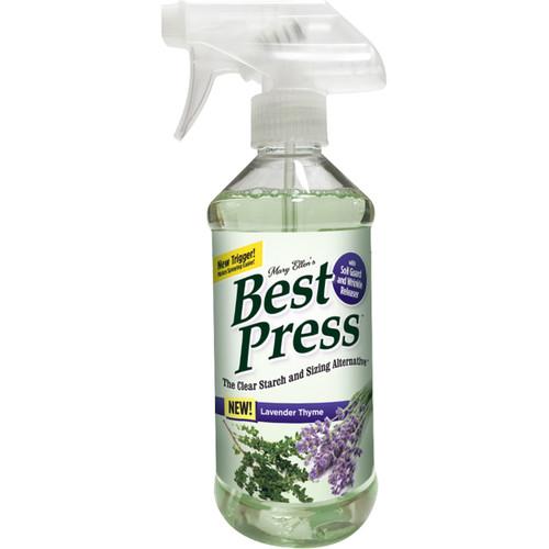 Mary Ellen's Best Press Clear Starch Alternative 16.9oz-Lavender Thyme -600BP-72 - 035234600726
