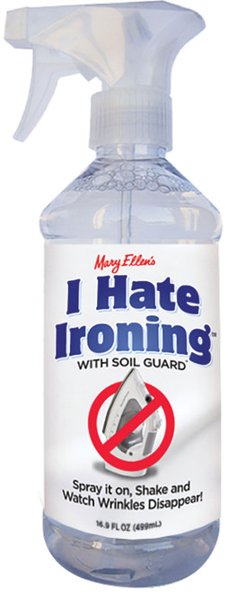 Mary Ellen's I Hate Ironing! Spray Wrinkle Remover 16oz-60036 - 035234600368