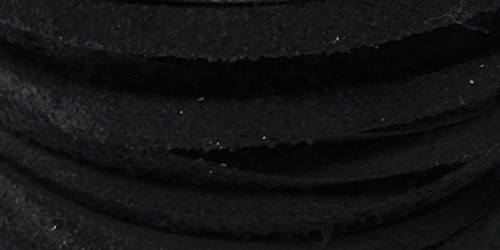 """Latigo Lace .125""""X50' Spool-Black -ROS50-1000"""