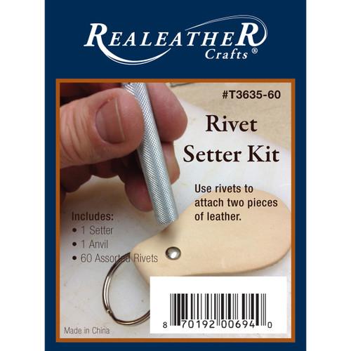 Rivet Setter Kit-Nickel -T3635-60 - 870192006940
