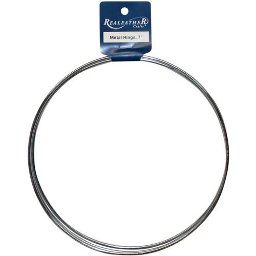 """Zinc Metal Rings-7"""" 3/Pkg -BRI-07-03 - 870192007152"""