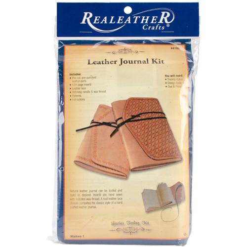 Leathercraft Kit-Dark Brown Journal -C4182-02 - 870192006568