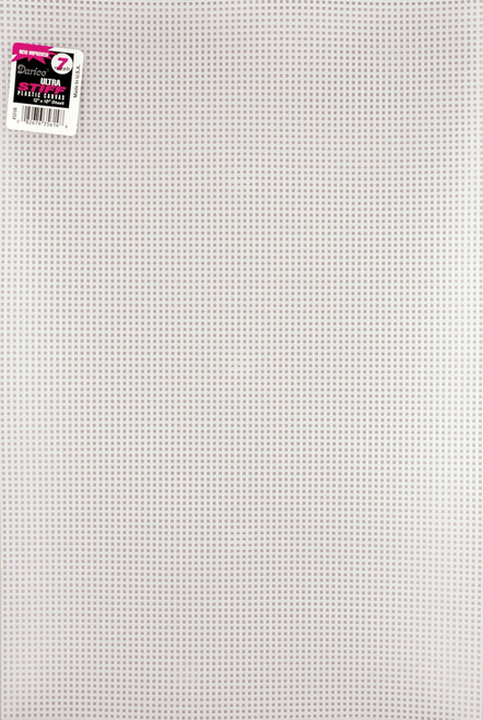 "Darice Ultra Stiff Plastic Canvas 7 Count 12""X18""-Clear -33106 - 082676356148"