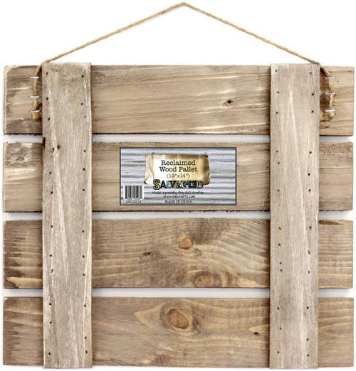 """Pallet Sign Blank 12""""X14""""-Reclaimed -AW12X14 - 750810251030"""