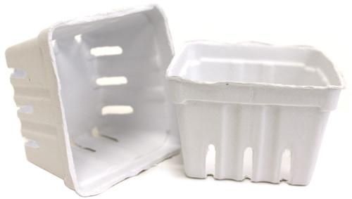 Berry Basket 10/Pkg-White -10STRWHT