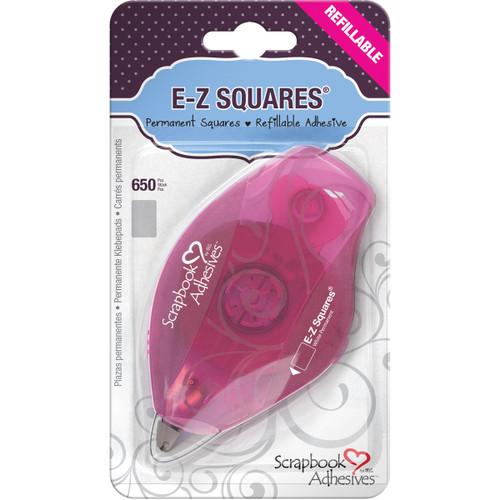 Scrapbook Adhesives E-Z Squares Refillable Dispenser 650/Pkg-Permanent -12066 - 093616012062
