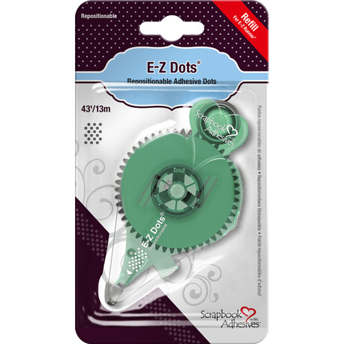 Scrapbook Adhesives E-Z Dots Refill-Repositionable, 43', Use In 12046 -12056 - 093616012055