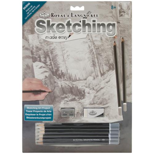 """Sketching Made Easy Kit 9""""X12""""-Shadow Lake -SKBN-6 - 090672068378"""